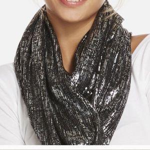 NWT Fabletics reversible infinity scarf shrug